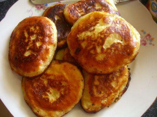 тар-тар сырные оладьи Банановый пудинг - 2