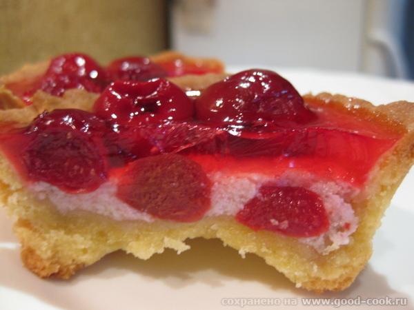 А на сладенькое у меня сегодня были вкуснющие Корзиночки с вишневым кремом от Кутовой Ирины Бесподо... - 2