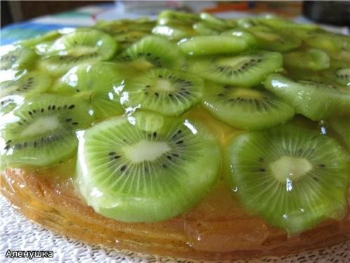 Пирог с киви Ингредиенты: Тесто: ■ 250 г муки ■ 2 ч