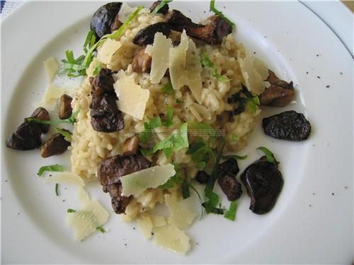 Сегодня делал Ризотто с лесными грибами Пошаговый рецепт здесь