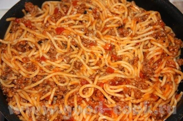 Спагетти болоньезе Фарш домашний - 800 гр