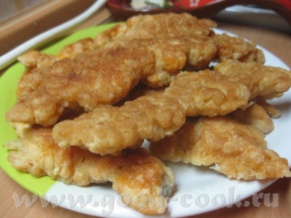 Рыбные палочки (жареная икра)