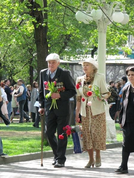 """Сад """"Эрмитаж"""" 9 мая Спасибо этим ветеранам и всем остальным за этот праздник"""