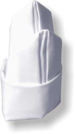 Шатер крученый Шатер на двоих Шатер на троих Шлейф Шляпа Кардинала Красиво сложенные салфетки могут... - 5