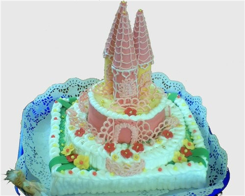 Тортики у всех очень красивые, листики вообще бесподобные
