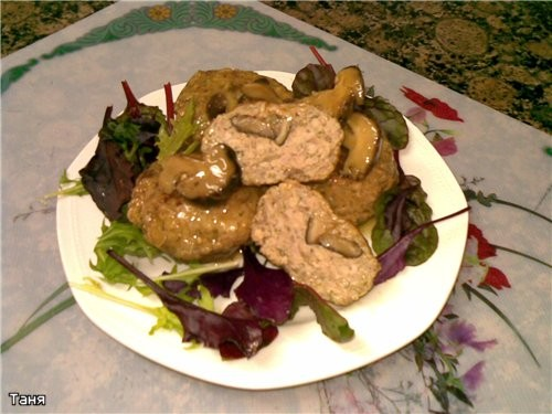 Фаршированые овощи Котлеты,начиненные грибами в грибном соусе Псевдофаршированная рыба Кебабы из го... - 2