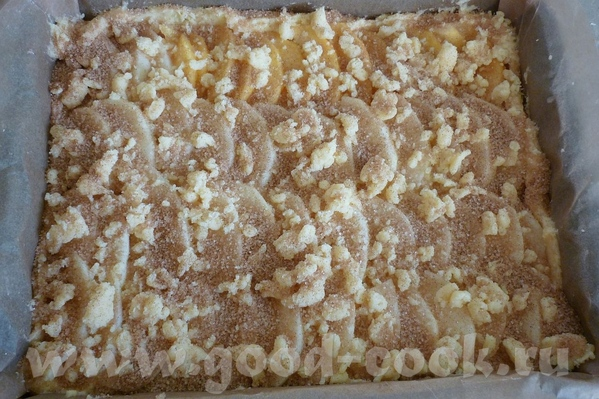 KUCHEN или Песочный пирог с разными начинками, лучше всего со сливами, у меня с яблоками - 2
