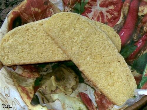 Кукурузный хлеб средиземноморский Своеобразный,интересный вкус - 3