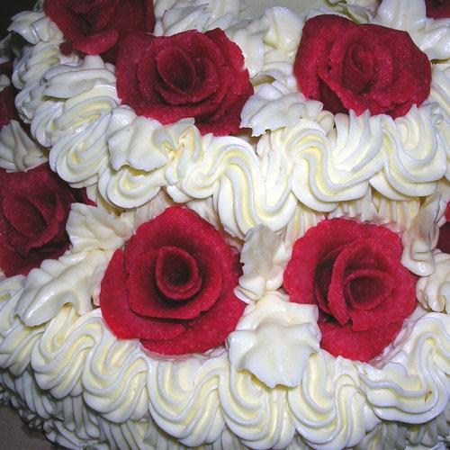 Тортик на юбилей свадьбы сестры ближе - 2