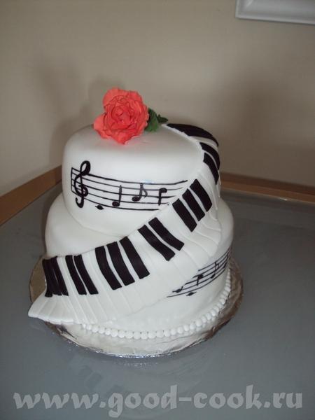 мой новый тортик
