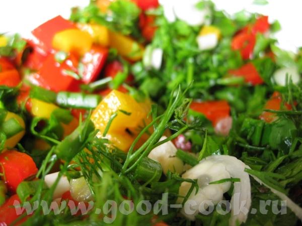 Рулет из телятины с перцем и зеленью Ингредиенты: ■ 800 г телятины ■ 1 красный сладкий... - 2