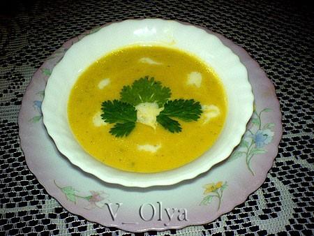 Сегодня приготовила Тыквенный суп-пюре