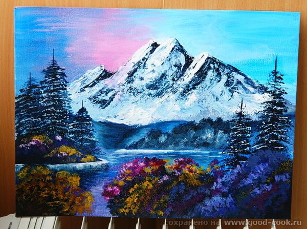 пейзажик горы