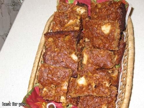 У нас такие были обеды и ужины: Пирог с грибами Суп-гуляш Печенье овсянное с финиками и яблоками - 3
