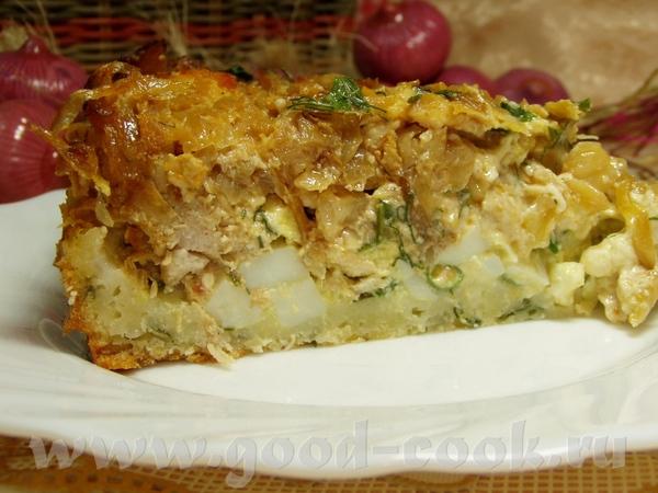 Пирог с капустой,мясом и яйцами Утилизация некоторых продуктов,как то:капуста давно лежала,было так... - 2
