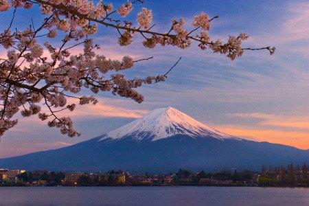 Думаю, что должно быть или Фудзи или сакура или суши или японские ворота Буду рада, если тебе что-т...