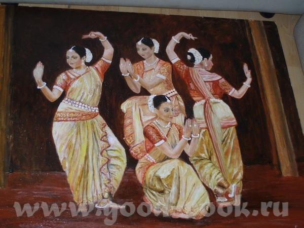 Индийский танец, его рисовала до волчицы - 2