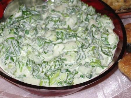 Вторая бабка Салат из хасы (Весенний салат) Оливье - 3