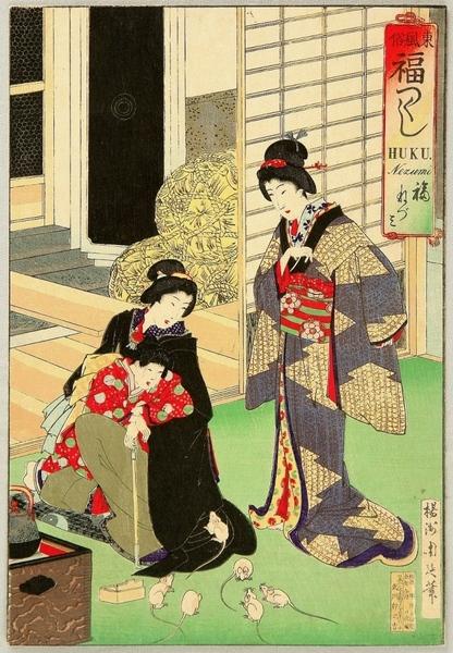 и ещё немного японских мотивов - 5