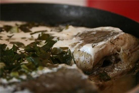 Иннеса, Кулинарная Гостиная Иннесы: Карп в сметане