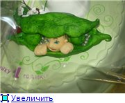 торт львенок печенько торт салатовые кроссовочки с горошком - 6