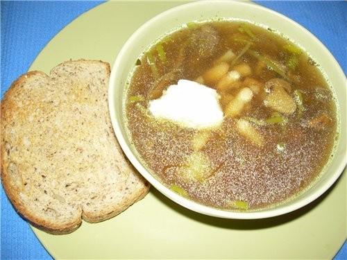 Суп-пюре из Цветной капусты с мятой и тимьяном - 5