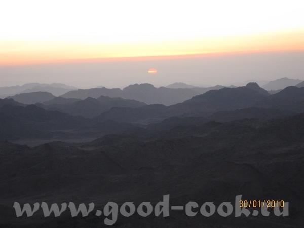 ну и конечно самым главным впечатлением было паломничество на гору Моисея - 5