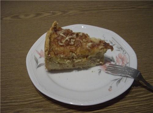 А я вчера делала луково-тыквенный пирог - 2