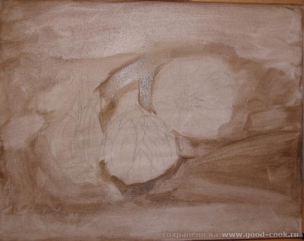 Вот начала что то делать с подлюками и подчесноками Сначала попыталась создать подобную композицию... - 3