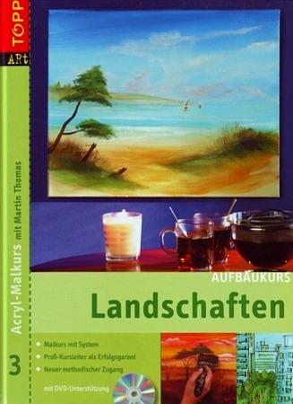 Три книжки по акрилу на немецком языке: абстракция, мастихин, моделирующие пасты, пошаговые уроки,... - 3