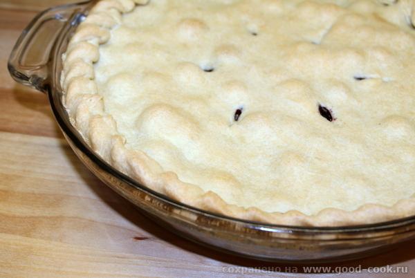 Пирог с черникой (Blueberry pie).