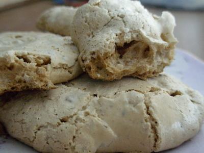 """Алена, принимай спасибку за Печенье """"Итальянские меренги"""" (без муки) Печеньки очень вкусные, хоть и..."""