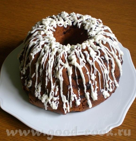 Fruchtiger Gugelhupf Фруктовый кекс Рецепт взят - из этой книги Потребуется форма для Gugelhupf диа...