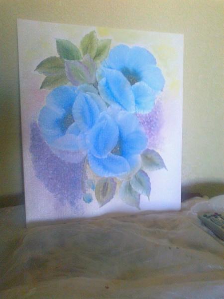 Голубые цветы по Дженкинсу
