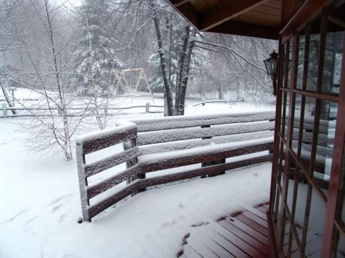 """А вот зимний закат в местечке под названием """"Dichato"""" - мы там ужинали в ресторане и были застигнут... - 2"""