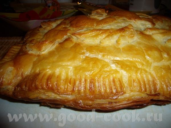 СЛОЕНЫЙ ПИРОГ С МЯСНЫМ ФАРШЕМ Пирог очень прост и быстр в приготовлении, но очень вкусный