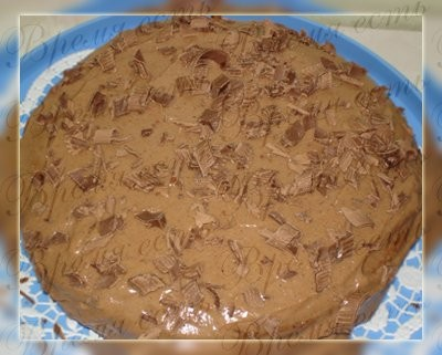 Торт Прага 150гр сахара 1 яйцо 3 ч