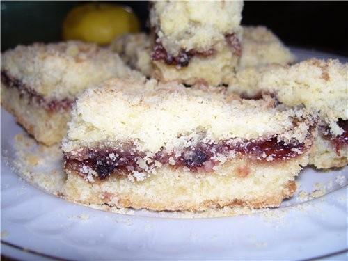 Пирог РАССЫПЧАТЫЙ Пирог очень вкусный