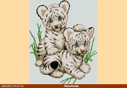 Может кому пригодится для рисунков В основном желтые тигры на календарях к 2010 году, но есть и бел... - 6