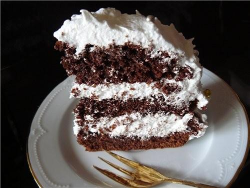 Торт «Белоснежка» - 3
