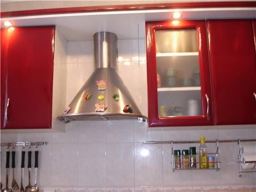 Какая кухонька у тебя красивая и светлая И мне нравиться когда балкон с кухни ( но у меня такого сч... - 3