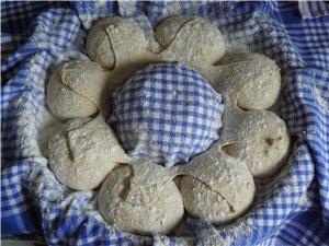 Хлебная корона из теста для Norwich Sourdoug 450 г хлебной муки, тип 550 60 г ржан - 8
