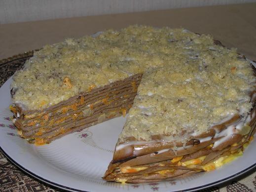 Большое спасибо за рецепт Торт из печени