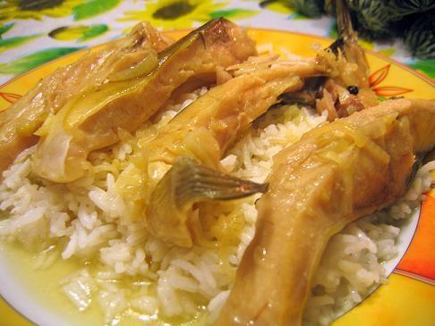 А сегодня на ужин у нас была бесподобная рыбка, тушеная с луком от Милены с КТ и Бананово-овсяный к...