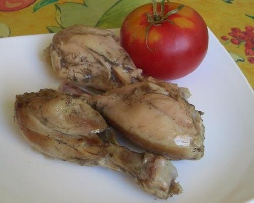 ОСТРЫЕ ТУШЕНЫЕ ОКОРОЧКА НАДО: 10 куриных голеней, бедрышек или окорочков 2 ч
