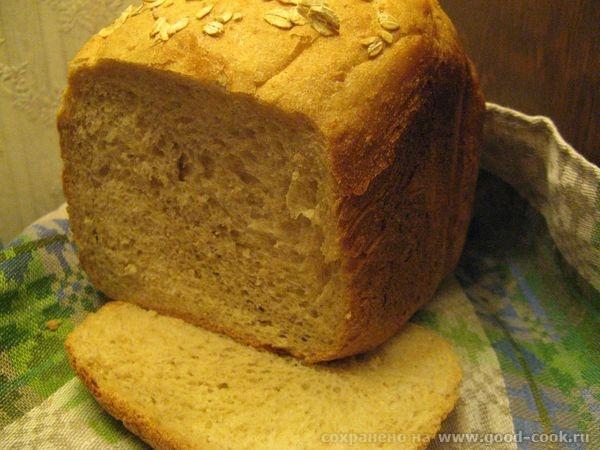 Хлеб с геркулесом