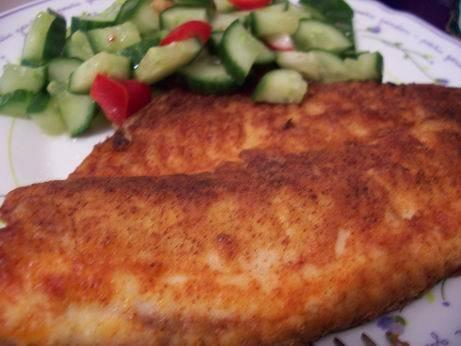 жареная рыбка в паприке нежные рыбно-овощные котлетки