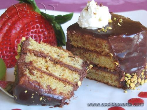 Следующий десерт посвящается любителям орехов в принципе, а фисташек в частности (коим я и являюсь... - 3