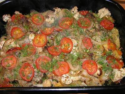 Кюфта с овощами