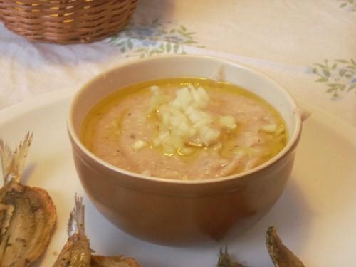 Фава из сухой фасоли с оливковым маслом